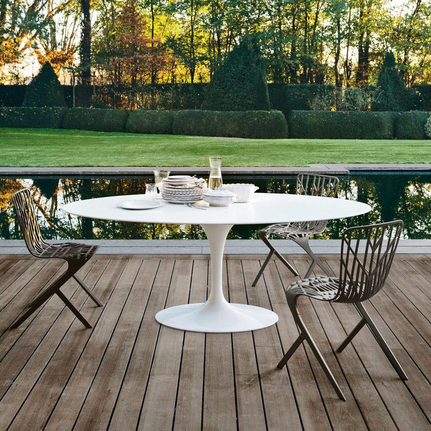Phenomenal Saarinen Tulip Tisch Oval Akrylstein Uwap Interior Chair Design Uwaporg