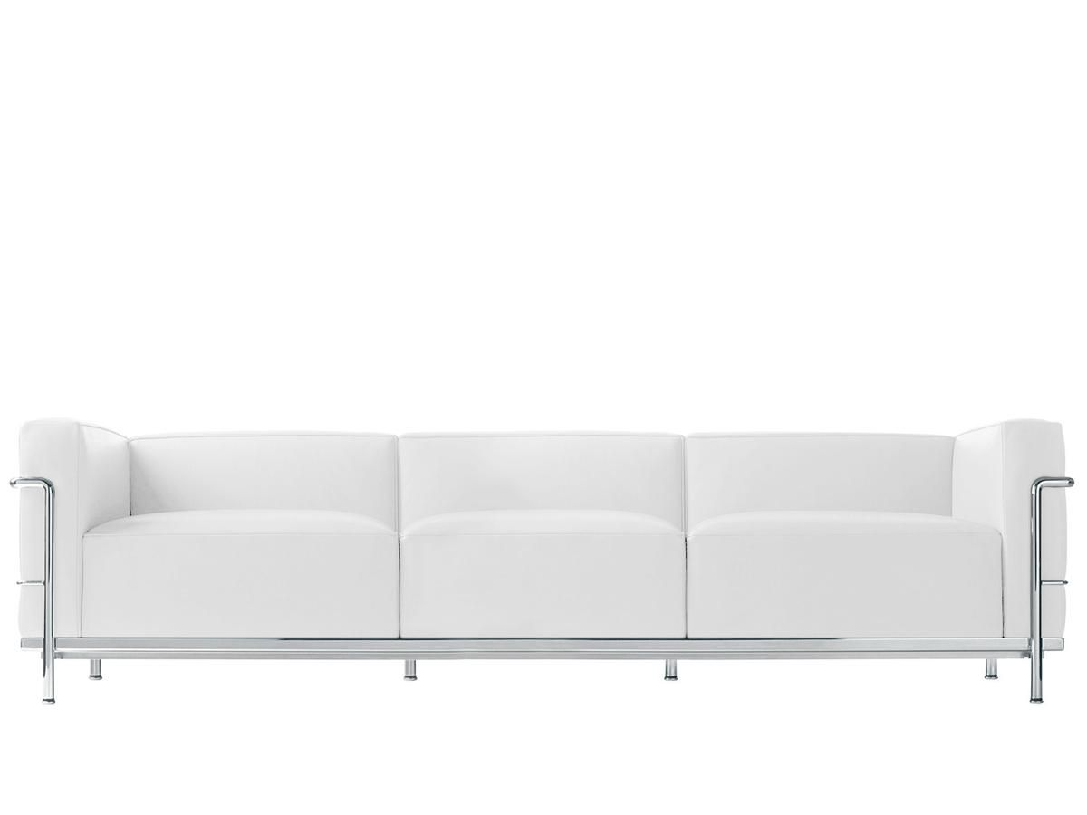 lc3 3 sitzer sofa. Black Bedroom Furniture Sets. Home Design Ideas