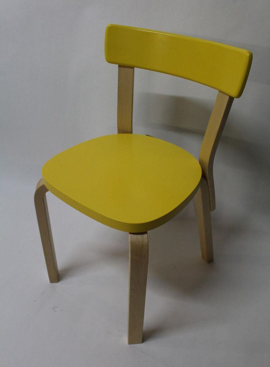 Chair 69 Stuhl Gelb
