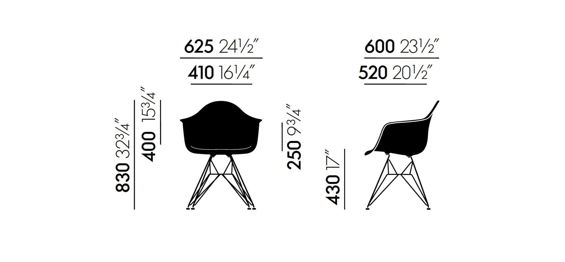 daw stuhl iconic designs eames style grauer daw stil stuhl with daw stuhl finest eames plastic. Black Bedroom Furniture Sets. Home Design Ideas